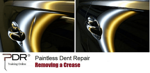 PDR Training Online Removing a Crease
