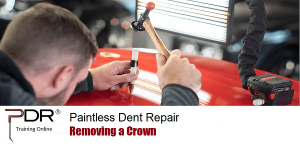 PDR Training Online Removing a Crown